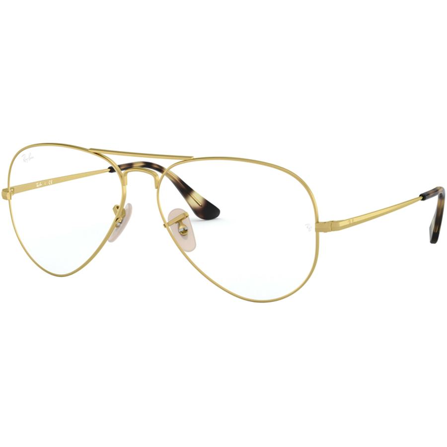 Rame ochelari de vedere unisex Ray-Ban RX6489 3033 Pilot originale cu comanda online