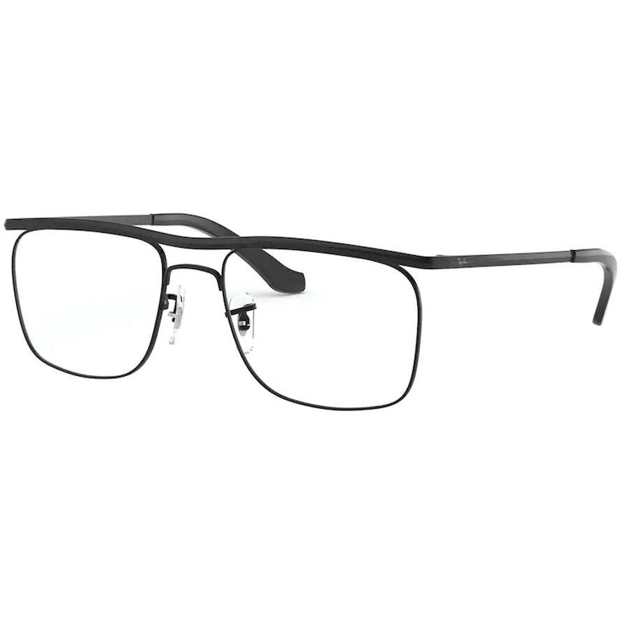 Rame ochelari de vedere unisex Ray-Ban RX6519 2509 Patrate originale cu comanda online