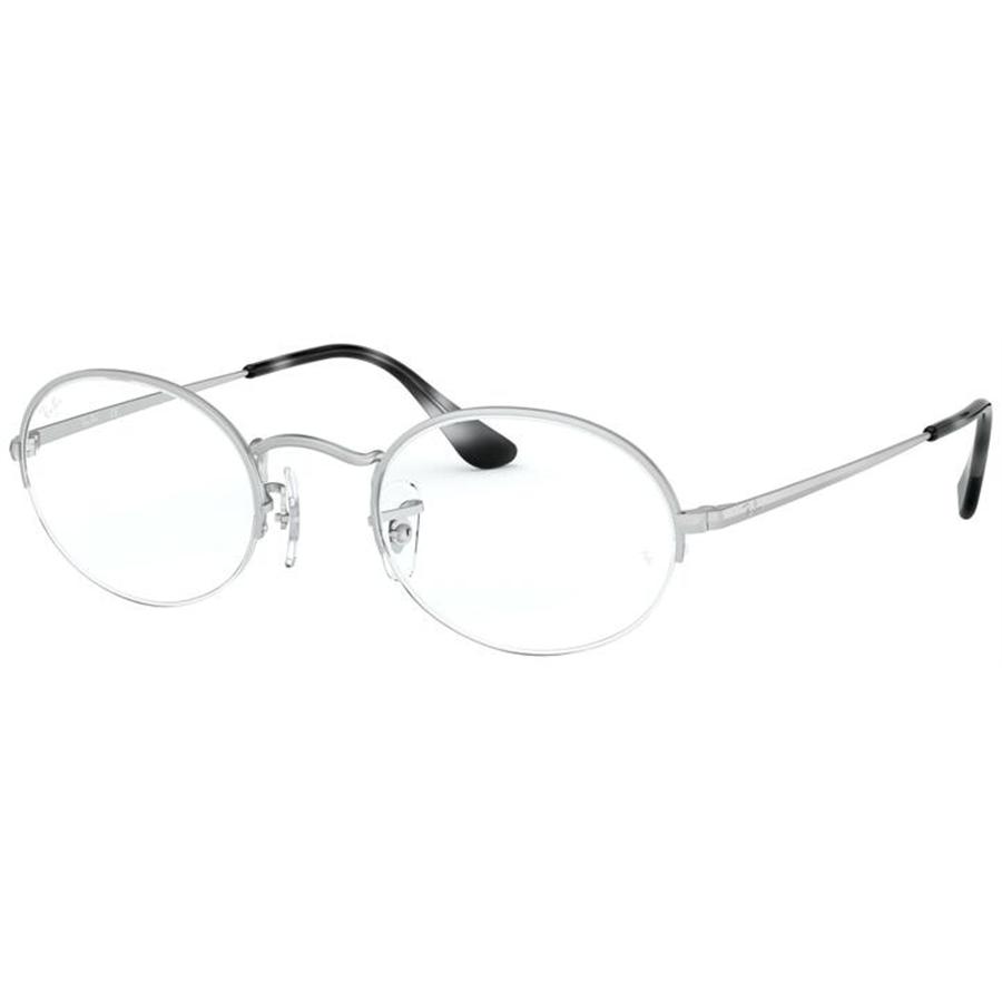 Rame ochelari de vedere unisex Ray-Ban RX6547 2538 Ovale originale cu comanda online
