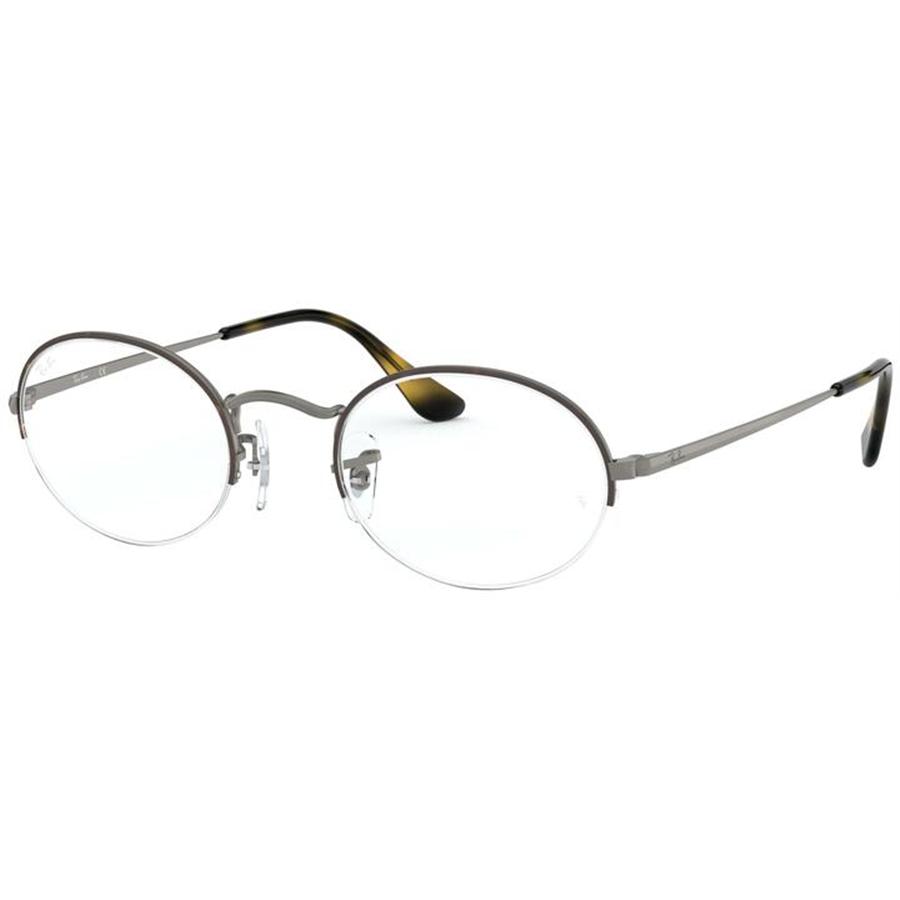 Rame ochelari de vedere unisex Ray-Ban RX6547 3034 Ovale originale cu comanda online