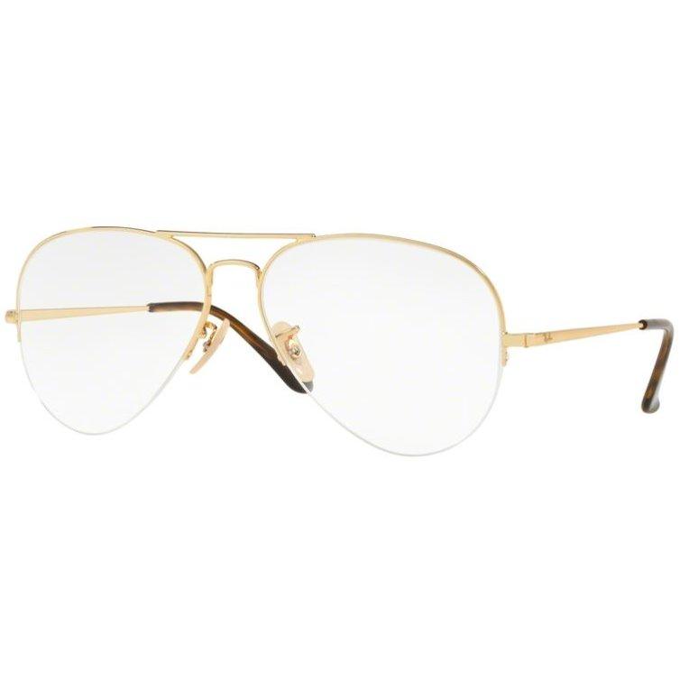 Rame ochelari de vedere unisex Ray-Ban RX6589 2500 Pilot originale cu comanda online