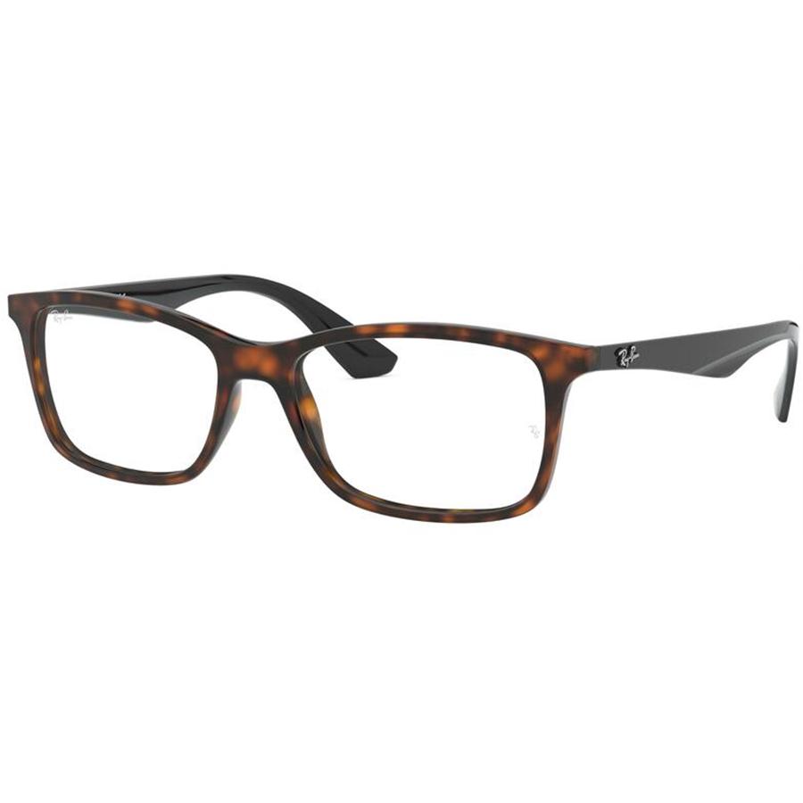 Rame ochelari de vedere unisex Ray-Ban RX7047 5847 Patrate originale cu comanda online