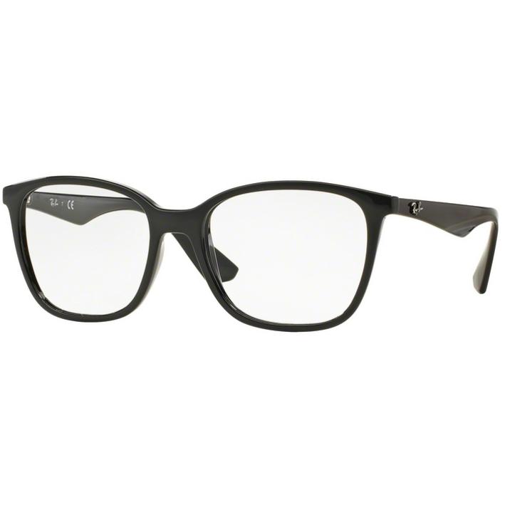 Rame ochelari de vedere unisex Ray-Ban RX7066 2000 Rectangulare originale cu comanda online