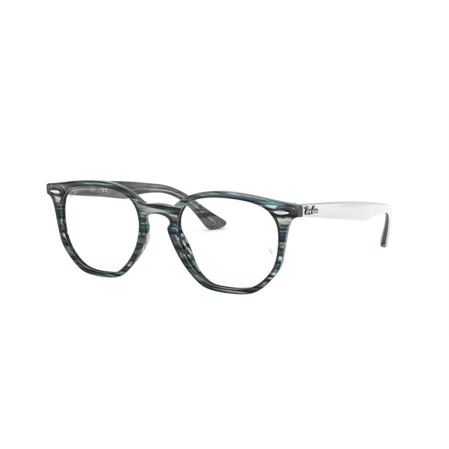 Rame ochelari de vedere unisex Ray-Ban RX7151 5801 Rotunde originale cu comanda online
