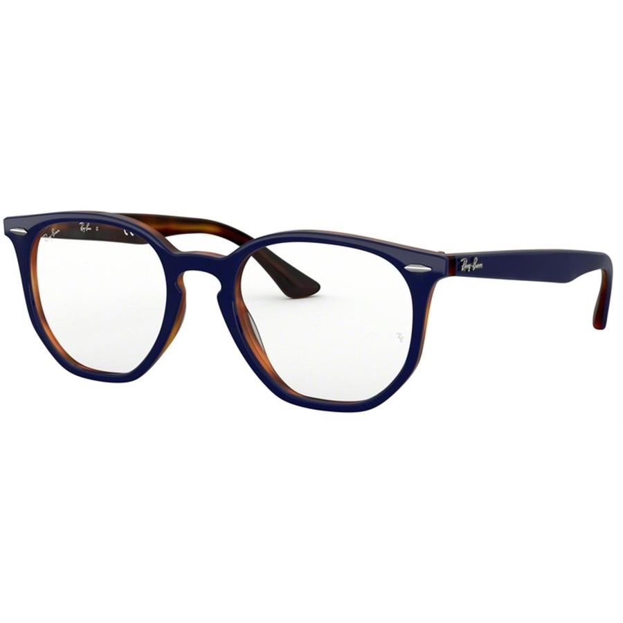 Rame ochelari de vedere unisex Ray-Ban RX7151 5910 Rotunde originale cu comanda online