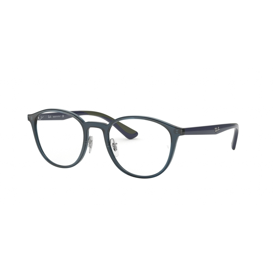 Rame ochelari de vedere unisex Ray-Ban RX7156 5796 Rotunde originale cu comanda online