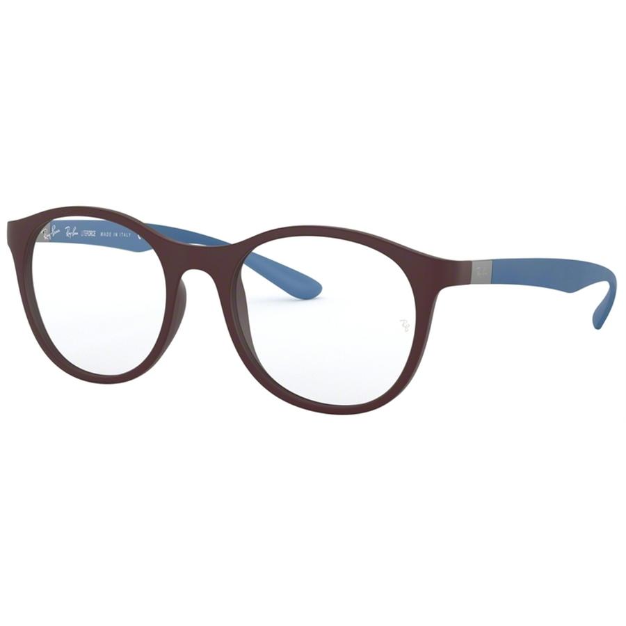 Rame ochelari de vedere unisex Ray-Ban RX7166 5916 Rotunde originale cu comanda online