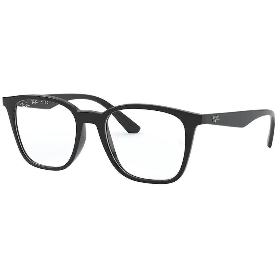 Rame ochelari de vedere unisex Ray-Ban RX7177 2000 Patrate originale cu comanda online