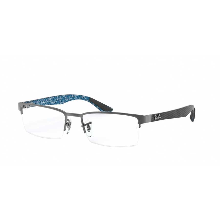Rame ochelari de vedere unisex Ray-Ban RX8412 2502 Rectangulare originale cu comanda online