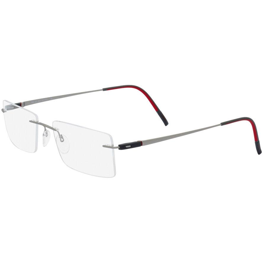 Rame ochelari de vedere unisex Silhouette 5502/BO 6510 Rectangulare originale cu comanda online