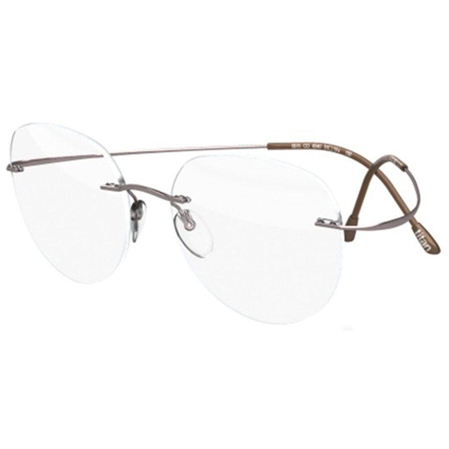 Rame ochelari de vedere unisex Silhouette 5515/CN 7110 Rotunde originale cu comanda online