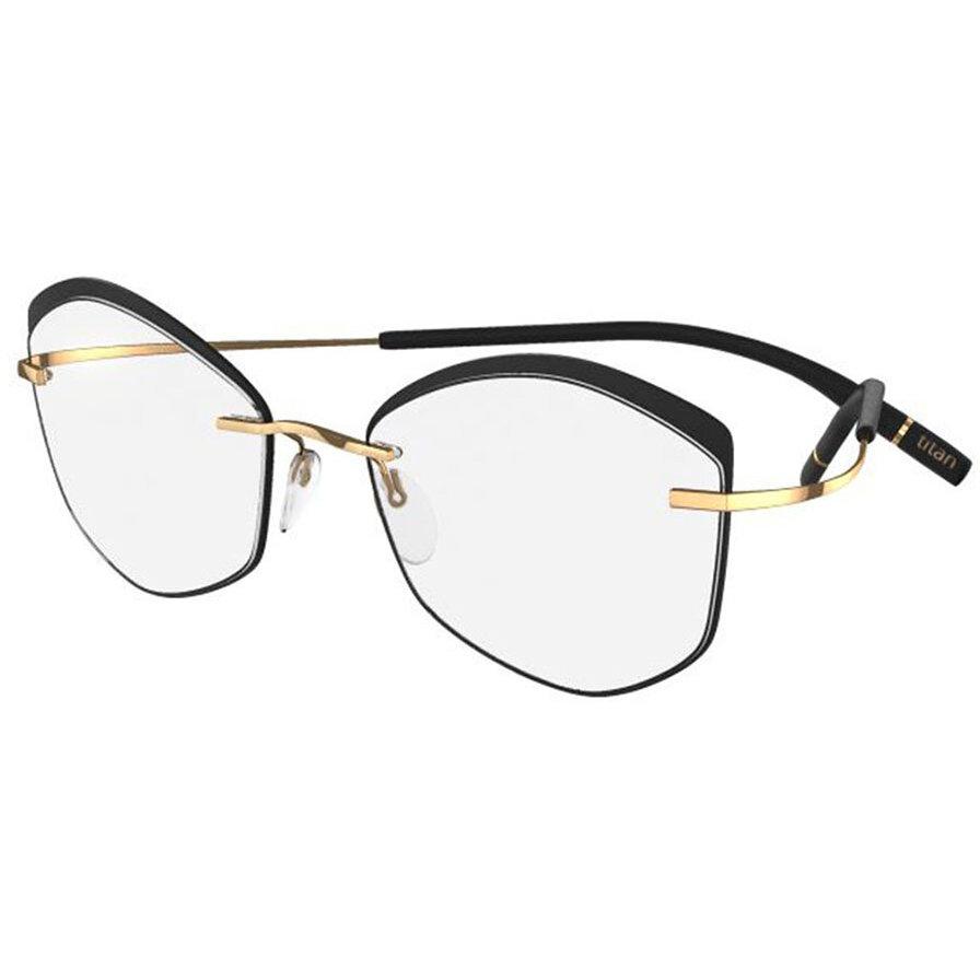 Rame ochelari de vedere unisex Silhouette 5518/FW 7530 Ovale originale cu comanda online