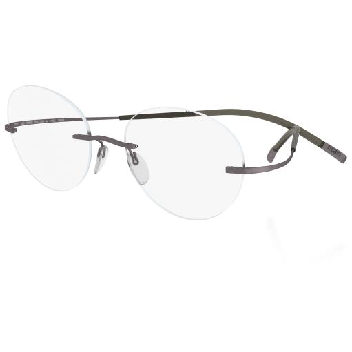 Rame ochelari de vedere unisex Silhouette 7580/40 6055 Ovale originale cu comanda online