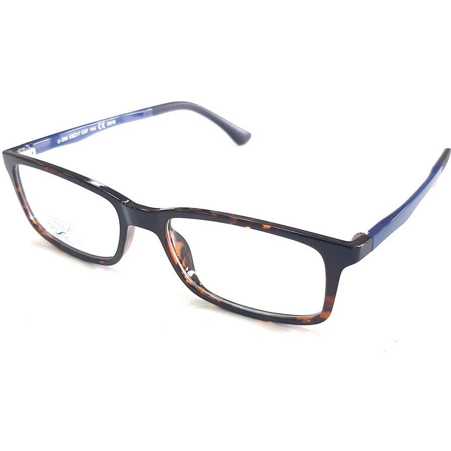 Rame ochelari de vedere unisex clip-on THEMA U-256 C007 Rectangulare originale cu comanda online