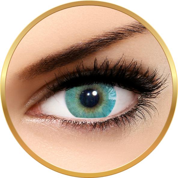 Solotica Hidrocor Marine – lentile de contact colorate turcoaz anuale – 365 purtari (2 lentile/cutie) brand Solotica cu comanda online