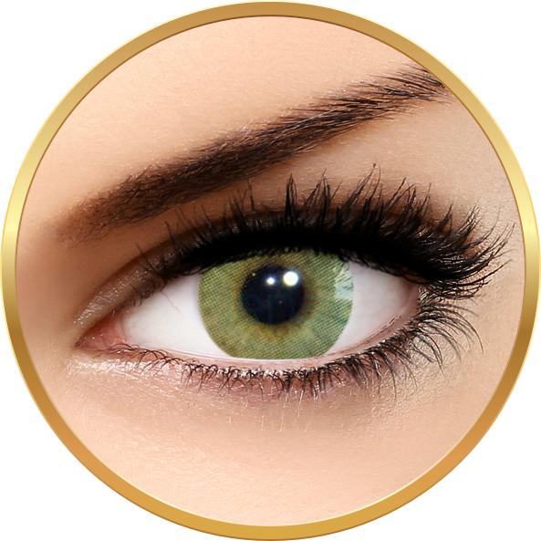 Solotica Hidrocor Mel – lentile de contact colorate verzi anuale – 365 purtari (2 lentile/cutie) brand Solotica cu comanda online