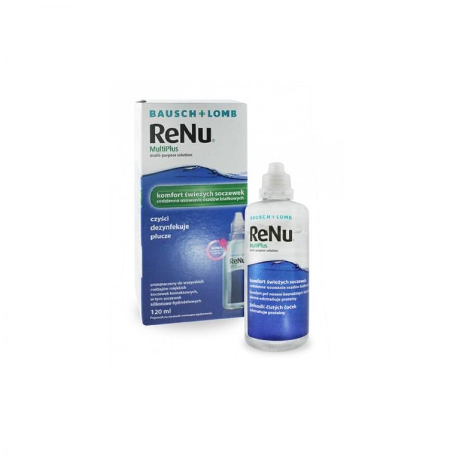 Solutie intretinere lentile de contact Renu Multi-Purpose 120 ml + suport lentile cadou marca Bausch&Lomb cu comanda online