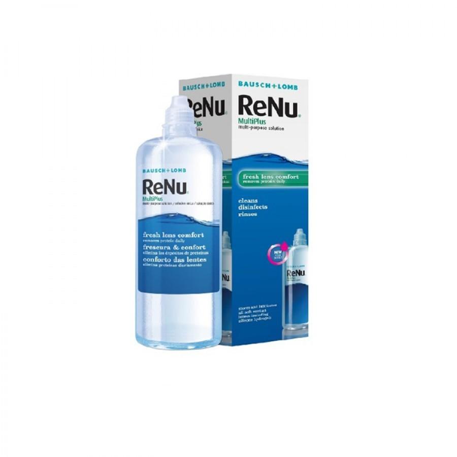 Solutie intretinere lentile de contact Renu Multi-Purpose 360 ml + suport lentile cadou marca Bausch&Lomb cu comanda online
