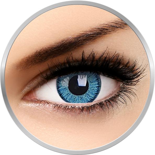 Vivid Blue – lentile de contact colorate albastre trimestriale – 90 purtari (2 lentile/cutie) brand Phantasee cu comanda online